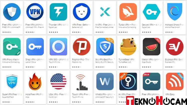 Android VPN Programları