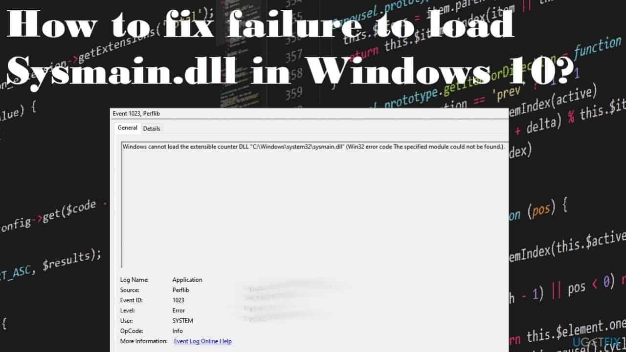 Windows 10'da Sysmain.dll