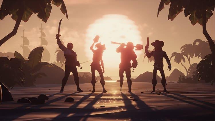 Açık Dünya Oyunları - Sea of Thieves