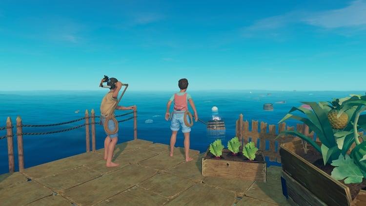 Açık Dünya Oyunları - Raft