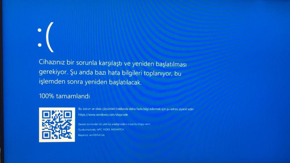 Windows 10 0x8900002A Hatası