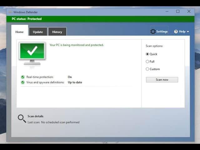 Windows Defender Hatası 0x80073b01