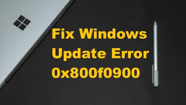 Windows Güncelleme Hatası 0x800f0247