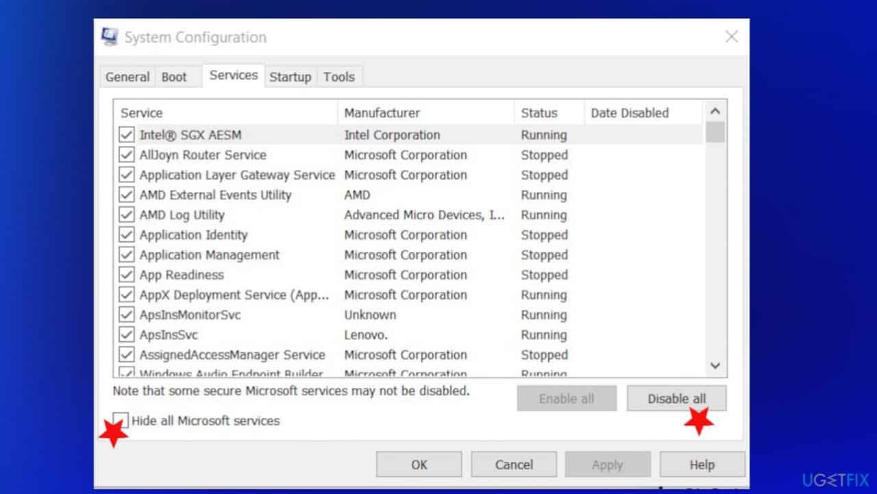 Windows Yükleme Hatası 0x800704DD-0x90016