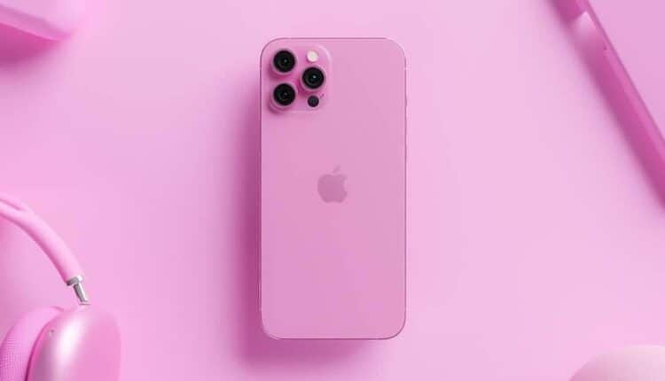 iPhone 13 Pro Max Rose Pink