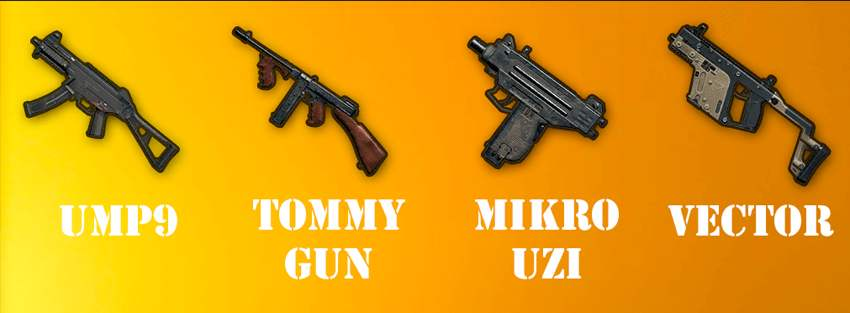 pubg mobile hafif makineli tüfekler